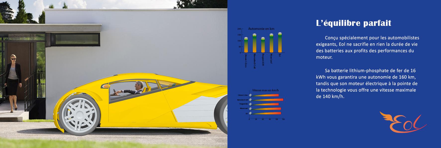 brochure voiture électrique page intérieur