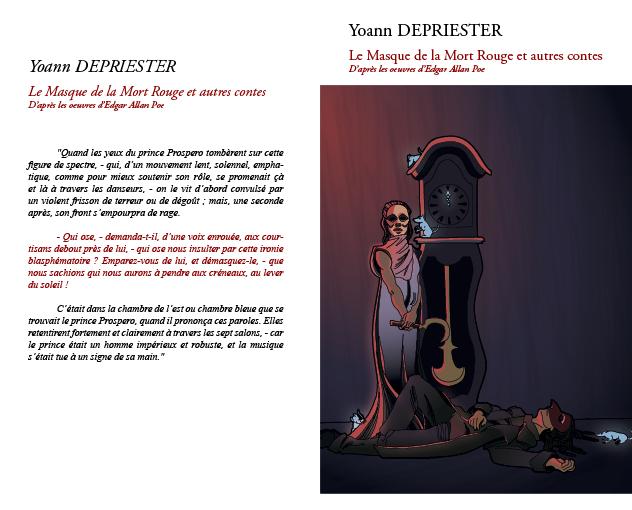 couverture conte de Poe