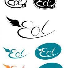 Logo Eol voiture électrique fictive