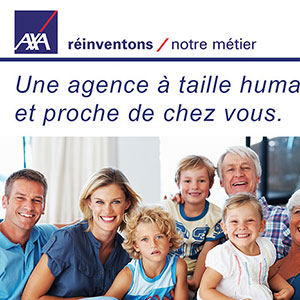 Flyer Axa agence Salager