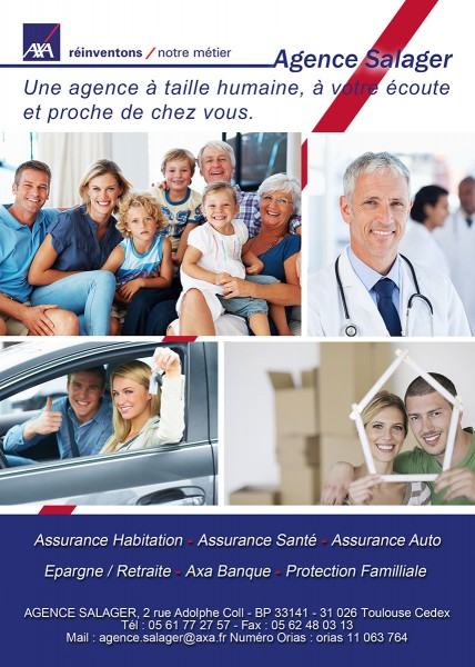 Flyer Axa Salager recto