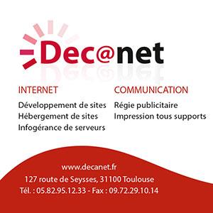 Carte de visite Agence Decanet