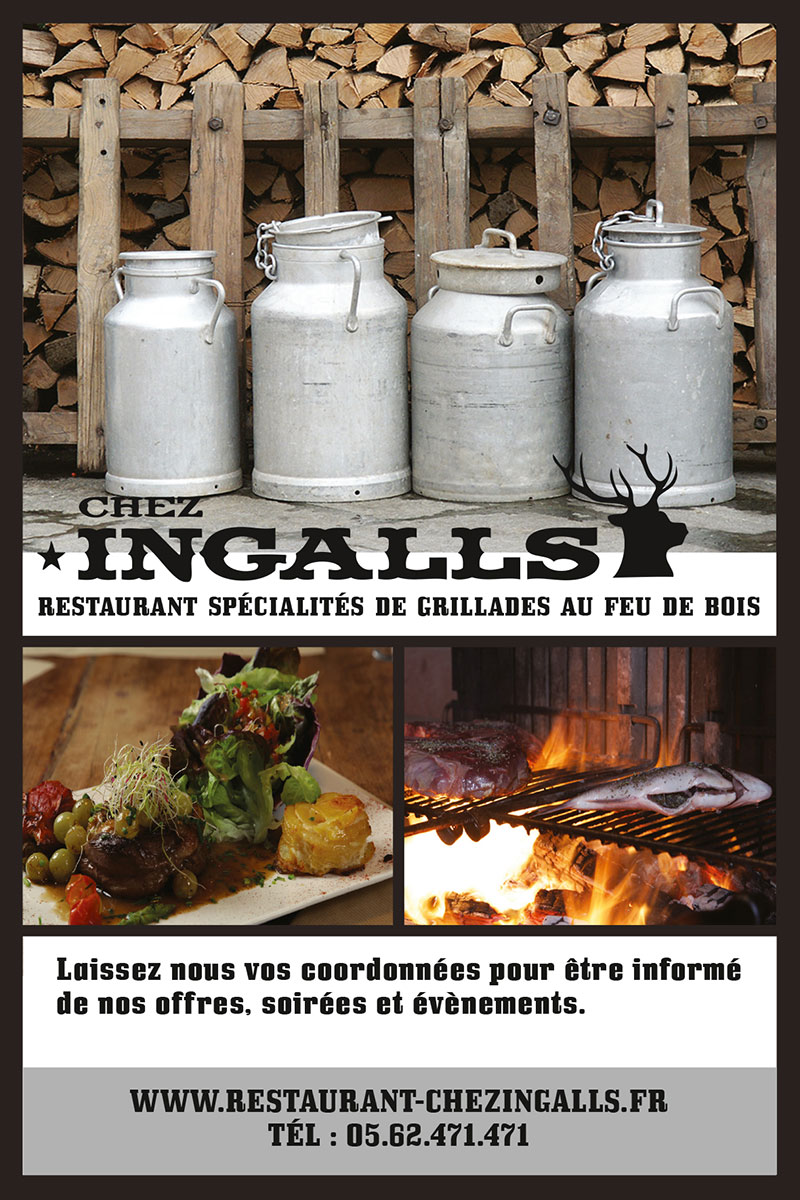 Flyer de Contact Chez Ingalls Recto