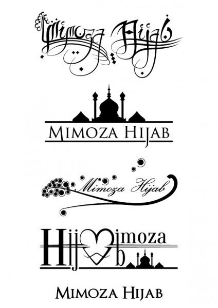 Etude de logo Mimoza Hijab