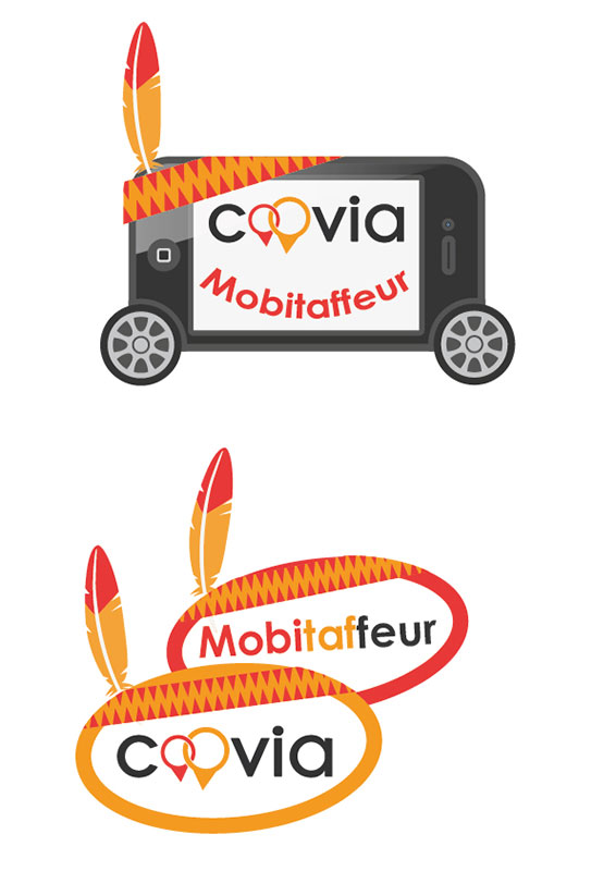 Coovia Stickers Mobitafeur