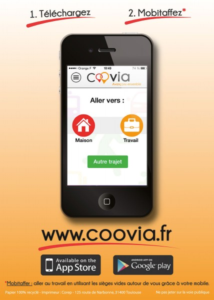 Flyer Coovia Verso