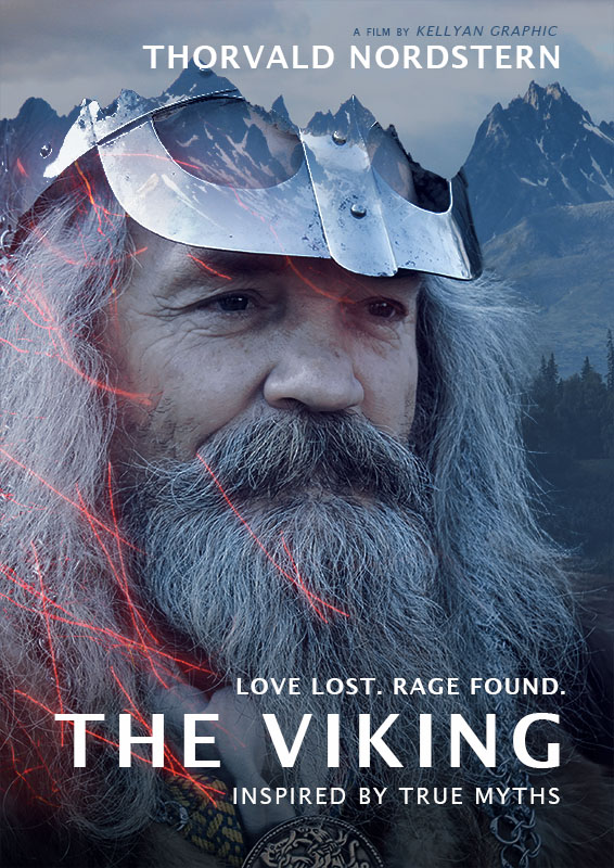 affiche The Viking inspirée par le film The Revenant