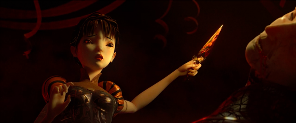 screenshot du film d'animation Les Liens de Sang