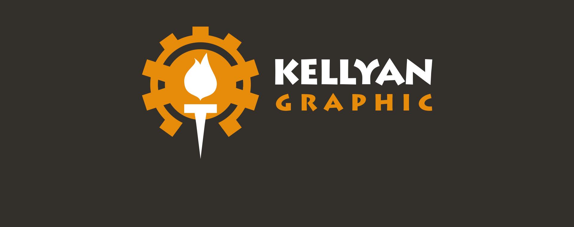Bandeau Kellyan Graphic Logo